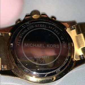 Michael Kors Accessories - Michael Kors watch gold tone Everest MK5871